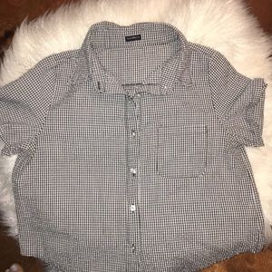 Cropped shirt from brandy Melville